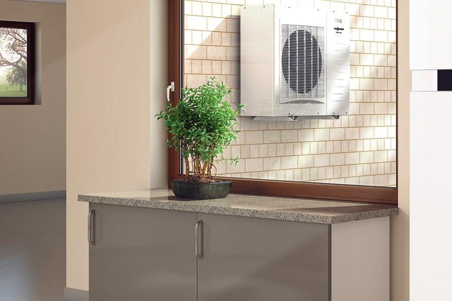 Pompa ciepła do ogrzewania domów jednorodzinnych.