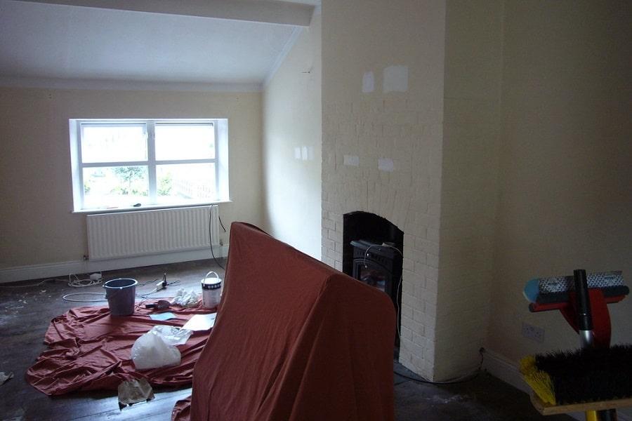 Remont mieszkania. Malowanie pokoi.