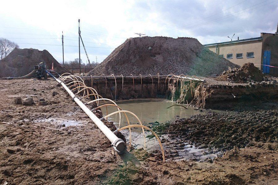 Zalane wykopy budowlane. Jak skutecznie usunąć wodę z wykopów?